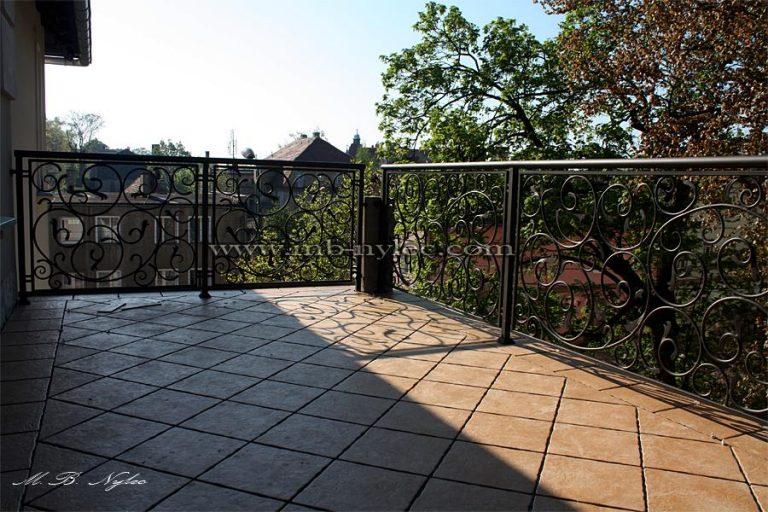 Kute barierki na balkon