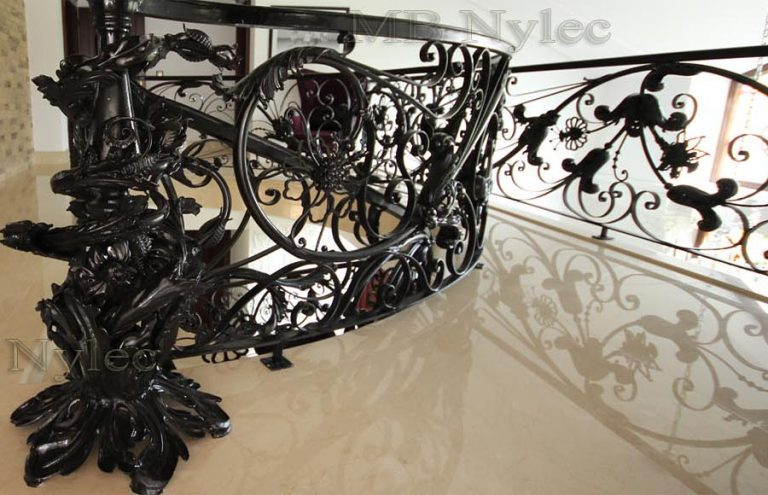 Luksusowe balustrady schodowe Glamour