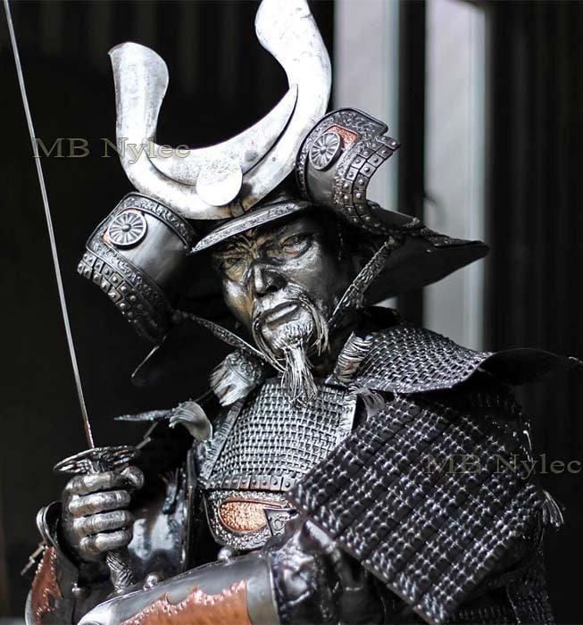 Samuraj z metalu - Gallery of steel figures - MB Nylec Dębica - Producent