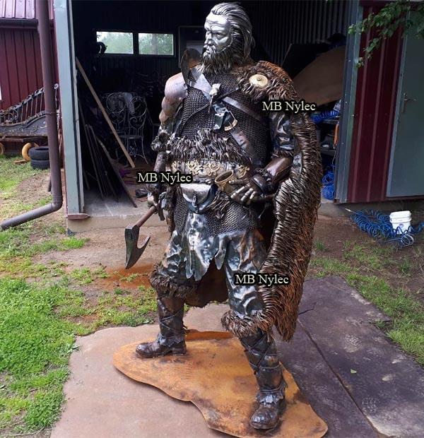 Wiking z metalu - Wojownicy z metalu - Giganci ze stali