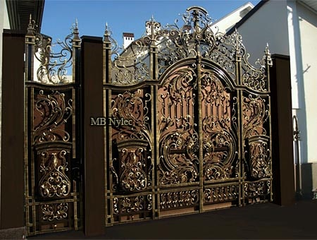 barokowa pełna brama bp265