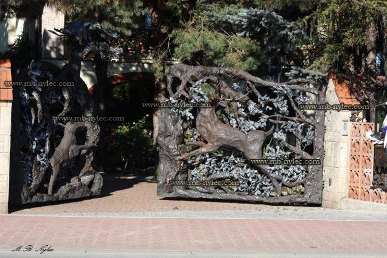 ekskluzywna góralska brama kuta