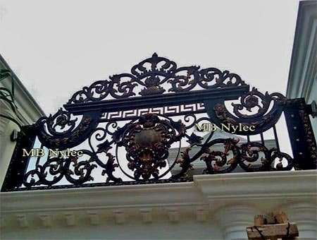 ekskluzywne ogrodzenie w stylu orientalnym bp130