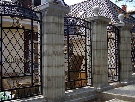 eleganckie kute ogrodzenie bp218