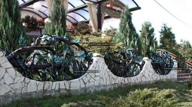 kute ogrodzenia roślinne bm33