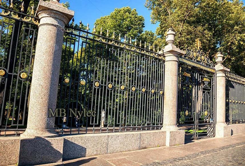 kute ogrodzenie parkowe pałacowe mb nylec bp225