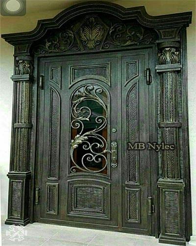 masywne drzwi kute dz13