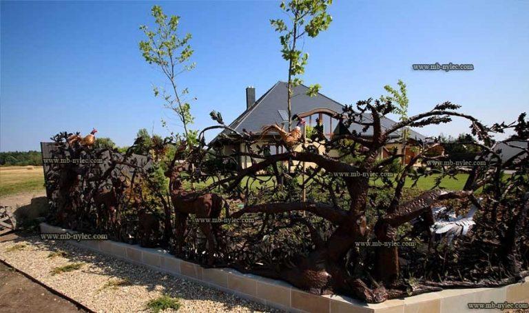 ogrodzenia myśliwskie - ogrodzenie rokiciny łódź - kowalstwo
