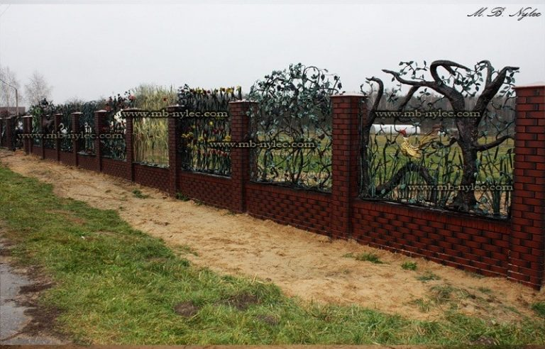 ogrodzenia z winogronami - kowalstwo śląsk