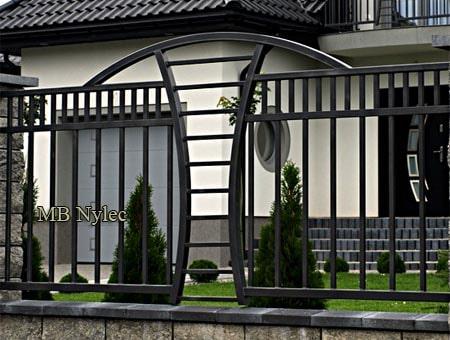 ogrodzenie nowoczesne modern bp244
