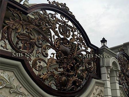 orientalne ogrodzenie kute bp112b
