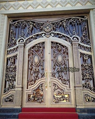 pałacowe drzwi kute dz16