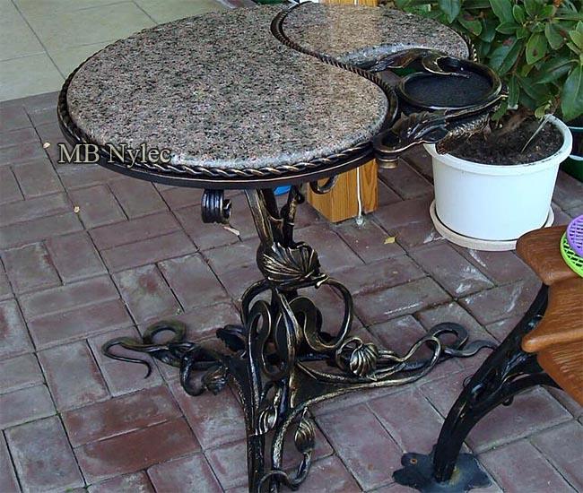 Designerski stolik ogrodowy mk39