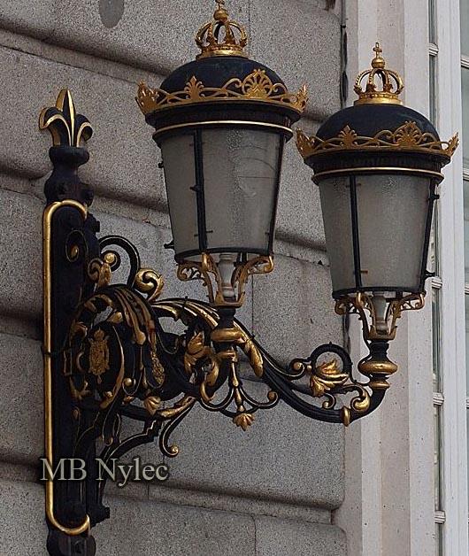 Kinkiet kuty do pałacu dworu rezydencji ogd117