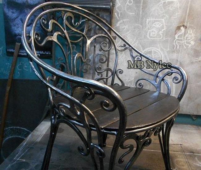 Kuty fotel stalowy mk68