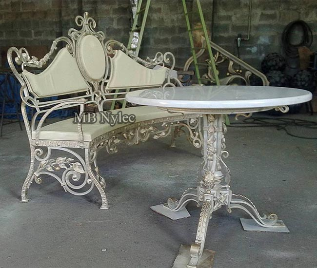 Meble kute - kuta ławka ze stołem mk33