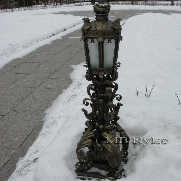 bogato zdobiona lampa kuta ogd75