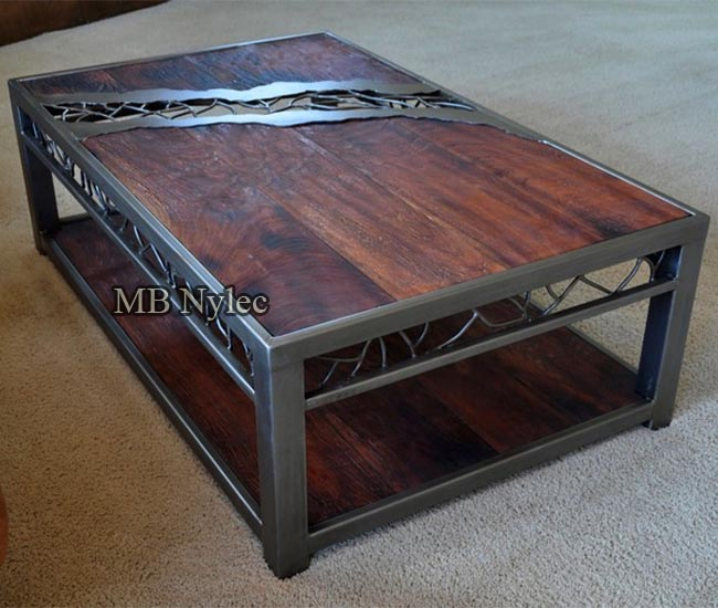 designerski stół loft