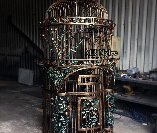 ekskluzywna kuta klatka dla ptaków papug mk60
