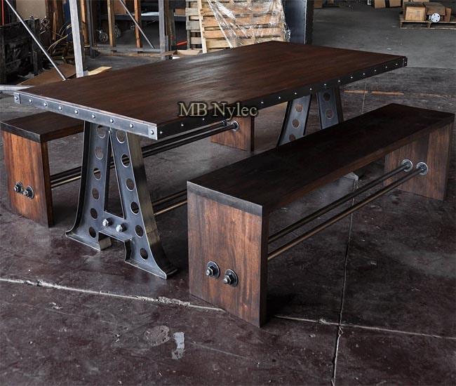 komplet mebli industrial loft