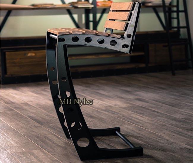 krzesło industrial loft