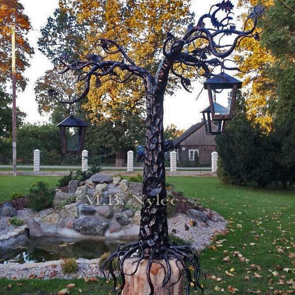 lampa drzewo kute ogd114