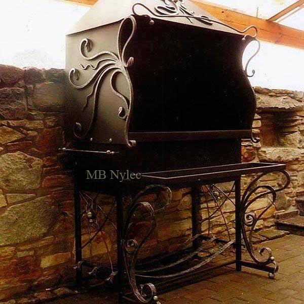 Kuty zabudowany grill