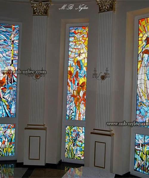 Witraże do kaplicy