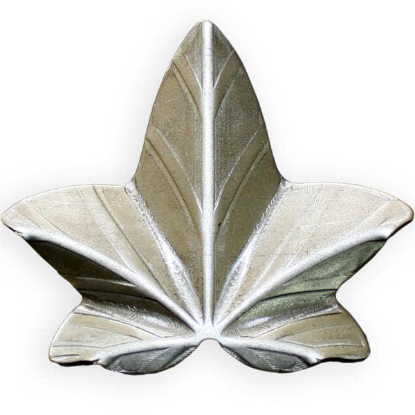 kuty liść bluszczu średni stalowy l5