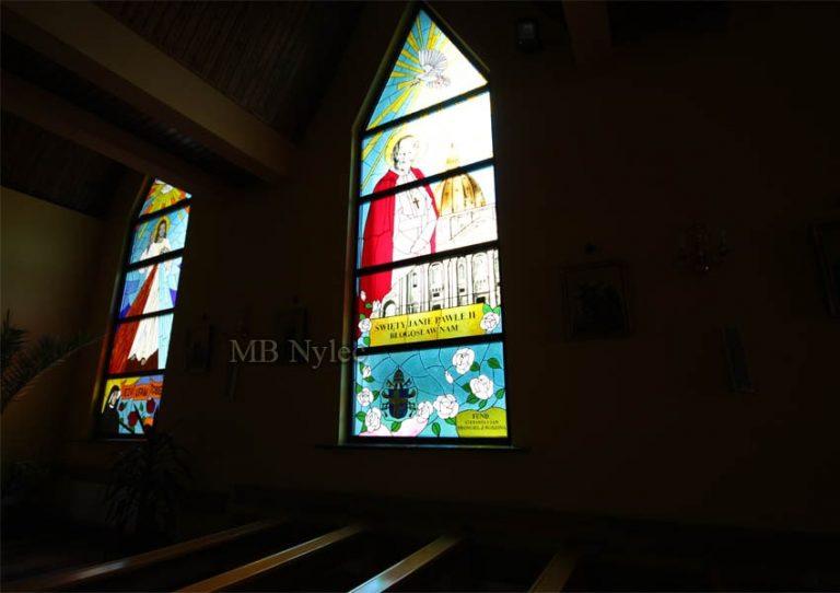 witraże do kościołów nylec