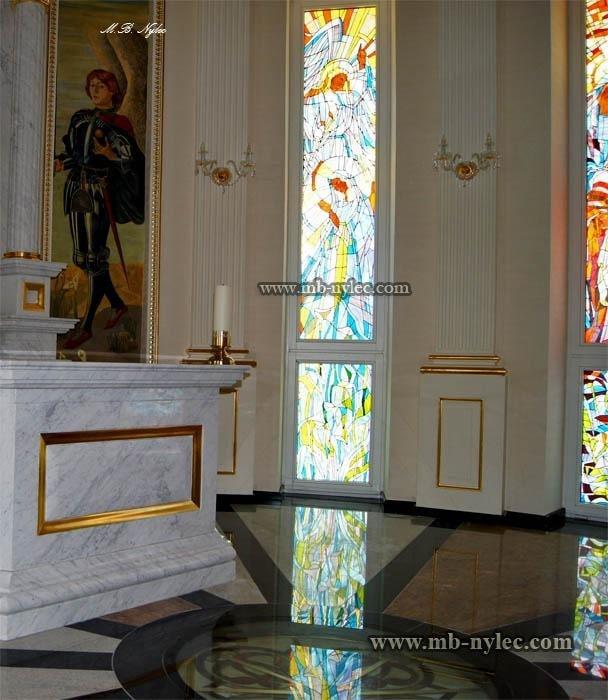 witraże do prywatnych kaplic