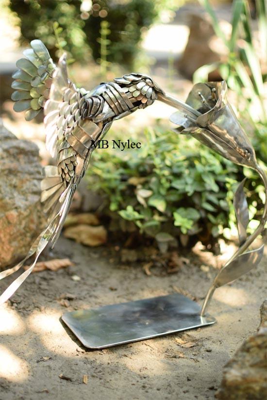 figura ze stali koliber