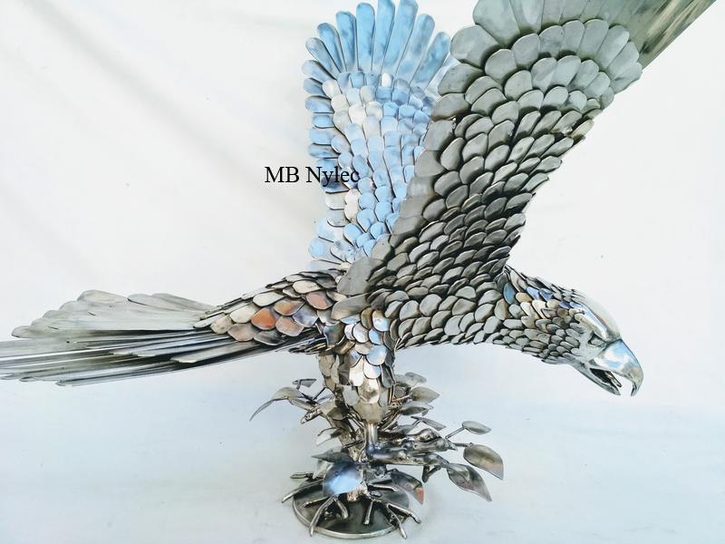 metaloplastyka rzeźba kowalstwo orzeł