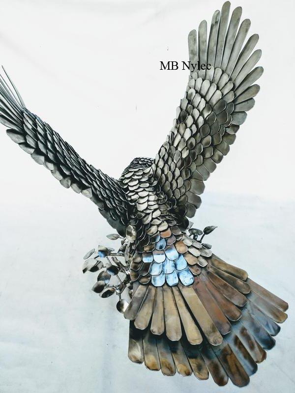 rzeźba inox kowalstwo