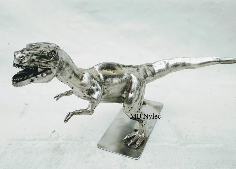 tyranozaur rzeźba z metalu kowalstwo artystyczne