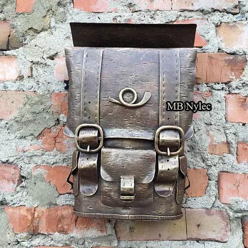 kuta skrzynka ręcznie robiona skrzynka pocztowa ps8