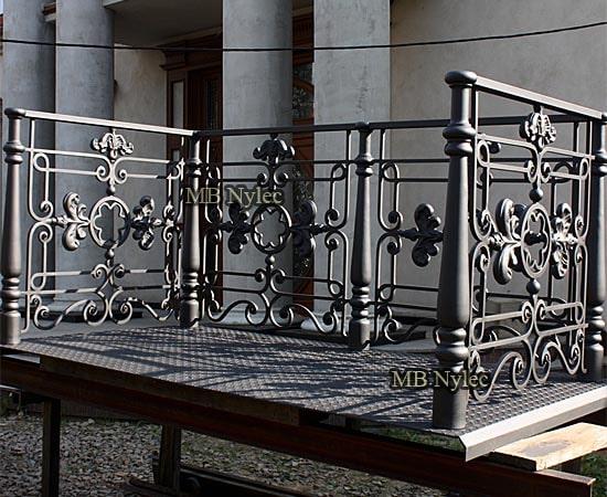 balustrada balkonowa dworska