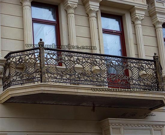 balustrada balkonowa elegancka