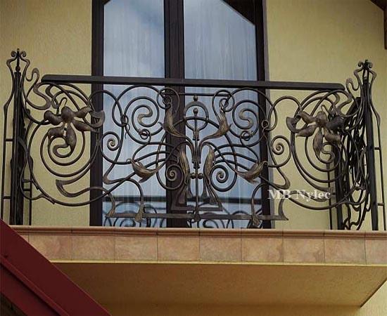 balustrada balkonowa metalowa