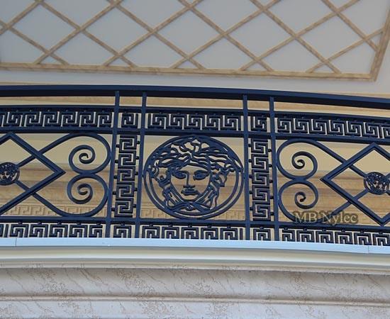balustrada balkonowa versace